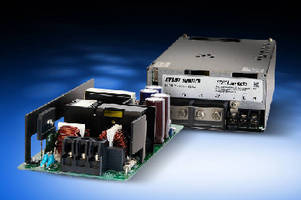 AC-DC Power Supplies charge energy storage systems.