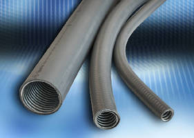Flexible Electrical Conduit features liquid-tight design.