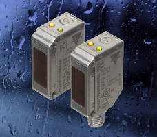 Stainless Steel Photoelectric Sensors feature IP69K rating.