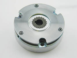 Spring Engaged (Power Off) Brake features thin design.