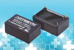 DC-DC Converters feature medical safety approval.