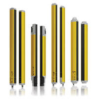 Safety Light Curtains offer simplified functions and settings.
