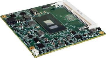 COM Express Modules feature Intel processors.