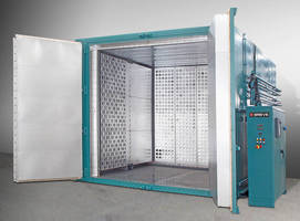Walk-In Oven provides high-temperature operation.