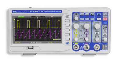 Digital Storage Oscilloscope measures signals and waveforms.