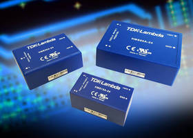 Board-Mount AC/DC Power Supplies carry medical, ITE certification.