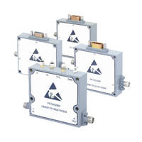Voltage Variable Attenuators provide 60 dB attenuation.