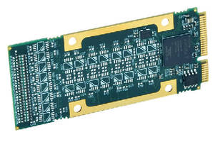I/O Modules offer PCIe interface format.