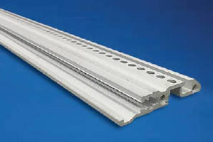 Rugged Horizontal Rails handle high board insertion forces.