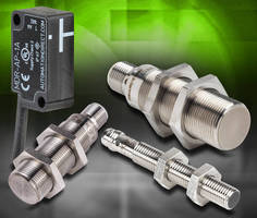 Magnetic DC Proximity Sensors have cylindrical form factor.