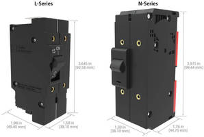 Hydraulic Magnetic Circuit Breakers sense current down to 1%.