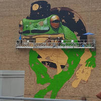 Spider Provides Access and Fall Protection for Mural Project in Milwaukee