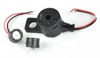 Piezo Transducer Buzzers withstand high-moisture environments.