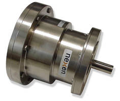 Flange Mounted Clutch-Brake has contamination preventing design.