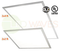 Low-Profile LED Panel Lights replace fluorescent troffer lights.