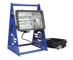 Metal Halide 400 W Work Light illuminates hazardous locations.