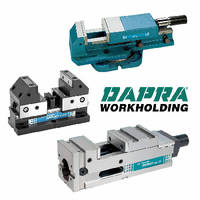High-Pressure Vises support milling and grinding.
