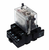 Power Relays come in transparent housings with LED indicators.