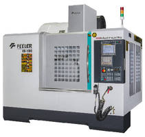 Vertical Machining Center utilizes high-rigidity spindle.