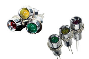 VCC L65 Series LED Indicators enhance illumination in high vibration applications.