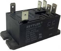 Double-Pole Relays for ESVE carry 40 A contact rating.