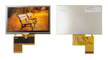 High-Brightness WQVGA TFT Display targets outdoor applications.