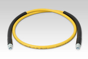 Reinflex 10,000 PSI Thermoplastic Hose Replaces Heavy Rubber Hoses in Hydraulic Applications