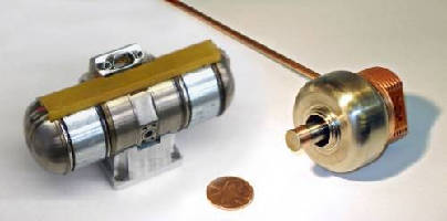 Micro-size Cryocooler enables quick-startup IR sensors.