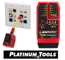 Cable Tester features detachable remote unit.