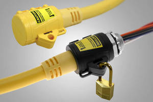 Locks secure MIN series connections in harsh environments.