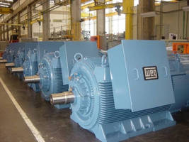 WEG Supplies Multiple Motors to a Petchem Plant in Mexico