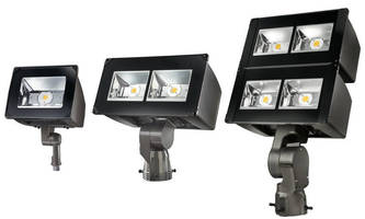 LED Floodlight Luminaires efficiently serve outdoor applications.