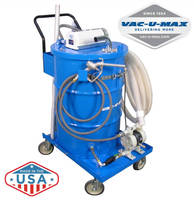 VAC-U-MAX Exhibits Industrial Vacuum Cleaning Systems & Solutions for High Volume Recovery and Separation of Coolant / Liquids from Metal Chips and Shavings at IMTS 2016, September 12-17, McCormick Place, Chicago, IL, Booth NC-646