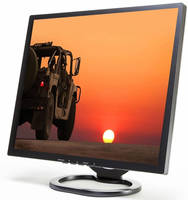 Rugged Daylight-Viewable LCD Monitors operate from -22° to +185°.