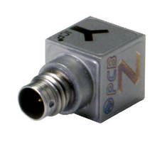 Triaxial Accelerometers support modal and structural analysis.