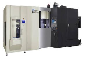 Vertical Machining Center handles complex aluminum components.