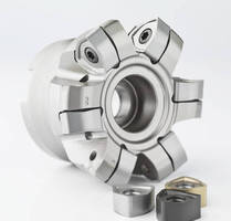 Indexable-Insert Milling Cutter increases material removal rates.