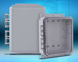 Polycarbonate Enclosures offer up to 900 in-lb impact resistance.