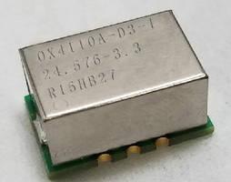OCXO offers tight temperature stability.
