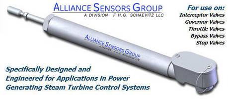 Linear Position Sensor PG Series Designed for Steam Turbine Valve Control Systems