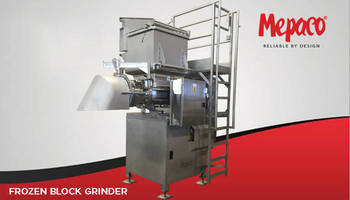 Frozen Block Grinder Demonstrates Versatility on Pet Food Processing Line
