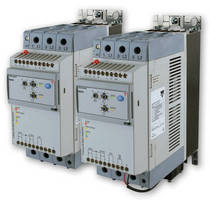 Self-Learning Soft Starters suit motor applications up to 100 hp.