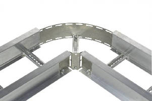 Cable Tray Flexible Coupler Kit features bendable plate.