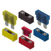 Auto Blade Fuse Holders foster identification via color.