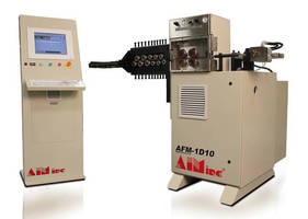 Single-Axis Servo Wire Feeders help boost productivity.