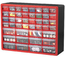 Plastic Storage Cabinets organize and protect loose items.