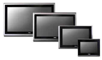 HMI Computer features fanless, ventless design.