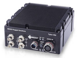 Ruggedized H.265 (HEVC) Video Encoder provides dual 3G-SDI inputs.