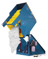Hydraulic Laundry Cart Dumper increases safety and efficiency.