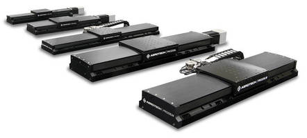 Industrial Linear Stages increase performance via feature set.